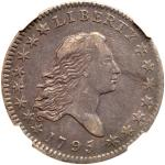1795 Flowing Hair Half Dollar. NGC AU50