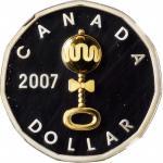 CANADA. Dollar, 2007. Ottawa Mint. NGC PROOF-68 Ultra Cameo.