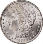 1885-CC Morgan Silver Dollar. MS-65 (PCGS). CAC. OGH.
