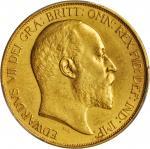 1902年英国5英镑金币。