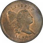 1796年自由帽0.5分 PCGS MS 66 Liberty Cap Half Cent