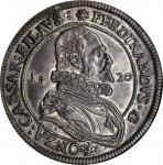 ITALY. Guastalla. Tallero, 1620. Ferrante II Gonzaga (1575-1630). NGC AU-55.