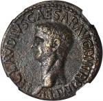 CLAUDIUS, A.D. 41-54. AE Dupondius (17.76 gms), Rome Mint, ca. A.D. 42-43.