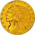 1914印第安半鹰 PCGS Proof 68