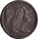 1794 Liberty Cap Cent. S-59. Rarity-3. Head of 1794. VF-30 (PCGS).