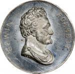 Circa 1859 Patriae Pater / Edwin Forrest medal by Frederick C. Key. Musante GW-232, Baker-220. White