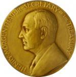 1939 United States Assay Commission Medal. Gilt Bronze. 57 mm. By John R. Sinnock and Adam Pietz. JK