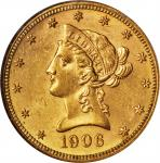 1906-S Liberty Head Eagle. MS-61 (NGC).