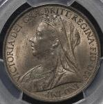 GREAT BRITAIN Victoria ヴィクトリア(1837~1901) Penny 1898 PCGS-MS64RB UNC+