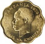 TANZANIA. 10 Senti, 1979. PCGS SPECIMEN-67 Gold Shield.