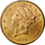 1879-S Liberty Head Double Eagle. MS-61 (PCGS).