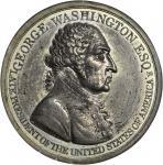 1799 (ca. 1800) Westwood Medal. Second Reverse. White Metal. 40.1 mm. Musante GW-83, Baker-80. MS-63