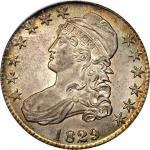 1829/7 Capped Bust Half Dollar. O-101. Rarity-1. MS-65 (PCGS). CAC.